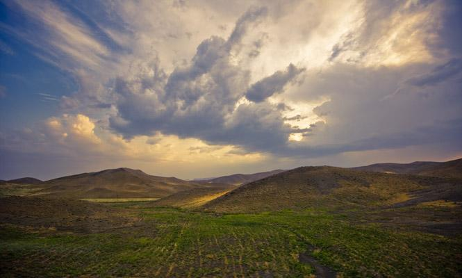 Landscape 1, northern Iran by James Longley