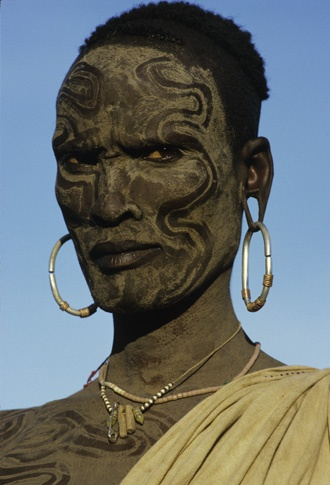 Muradit, Surma, Ethiopia by Carol Beckwith and Angela Fisher