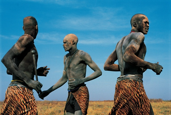 Dinka Courtship Dances, South Sudan by Carol Beckwith and Angela Fisher