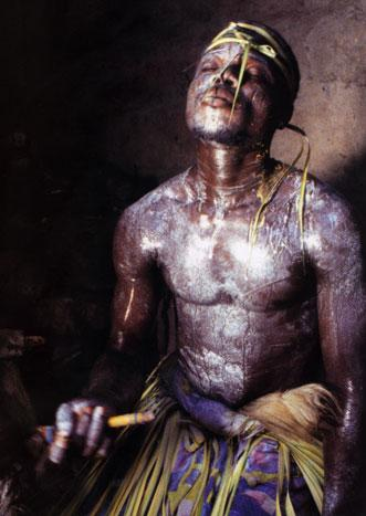 Voodoo Priest at Seko Healing Shrine, Togo by Carol Beckwith and Angela Fisher