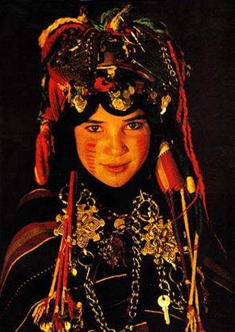 Berber Child Bride by Carol Beckwith and Angela Fisher