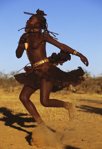 Spinning Himba Dancer by Carol Beckwith and Angela Fisher