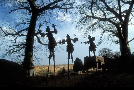 Dogon Stilt Masks by Carol Beckwith and Angela Fisher