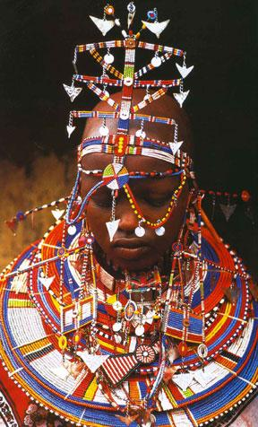 Maasai Bride of Kenya by Carol Beckwith and Angela Fisher