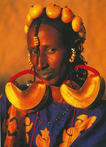Fulani Bride by Carol Beckwith and Angela Fisher