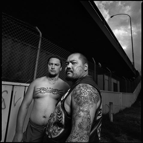 Maori Gang by Chris Rainier