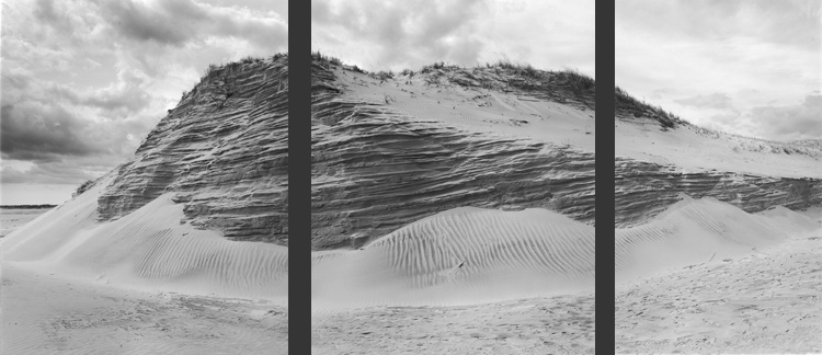 Dune and Clouds by Dorothy Kerper Monnelly