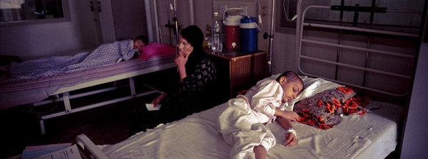 Cancer ward, Baghdad by James Longley