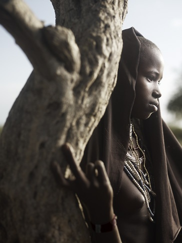 Portrait of Arbore Girl by Joey L.