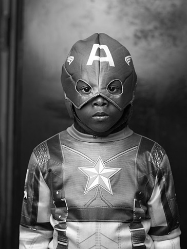 "Celso Castro as ""Captain America,"" I by Joey L."