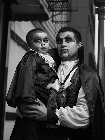 "Marcus Castro and son as ""Vampires"" by Joey L."