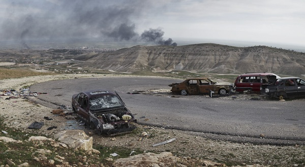 Besieged City of Sinjar by Joey L.