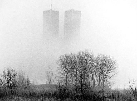 Towers in the Fog, 1992 by The New York Times Photo Archives