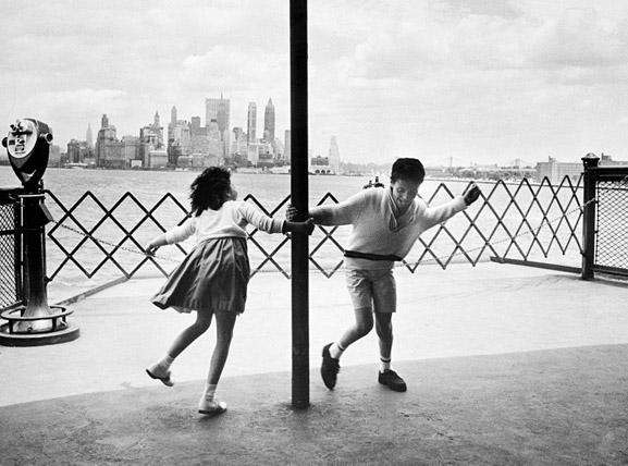 A Spin on the Ferry, 1964 by The New York Times Photo Archives