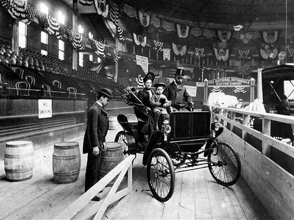 First Auto Show, 1900 by The New York Times Photo Archives
