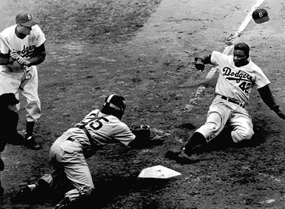 Jackie Robinson, 1952 by The New York Times Photo Archives