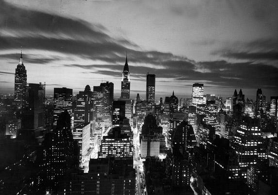 Manhattan Skyline, 1962 by The New York Times Photo Archives