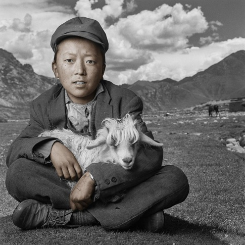 Dawa 15, Drigung Valley, Tibet by Phil Borges