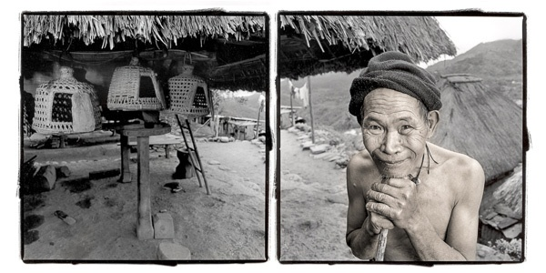 Laya, 81, Ifugao People, Banane, Philippines by Phil Borges