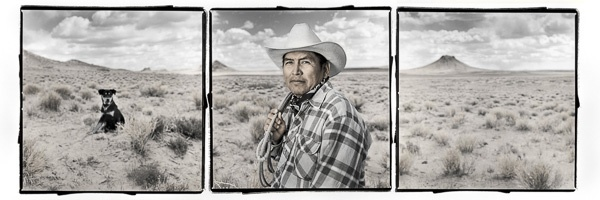 Morgan Yazzie, 45, Arizona, Navajo Nation by Phil Borges