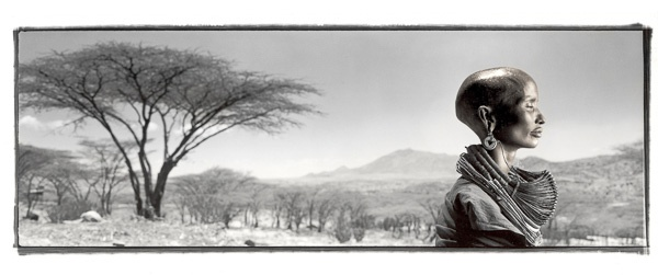 Sukulen, 37, Sambura Tribe, Mt. Nyiru, Kenya by Phil Borges