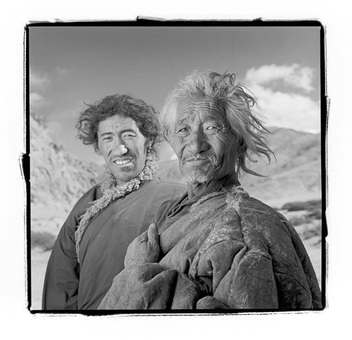 Pusang 64 & Dundup 32, Puga Valley, Ladakh by Phil Borges