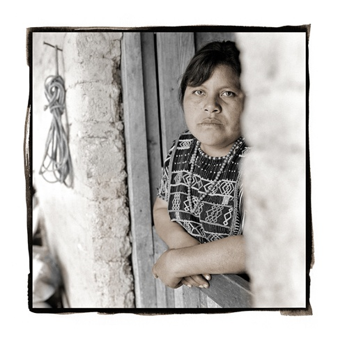 Rosa, 27  Ixtahuacan, Guatemala by Phil Borges