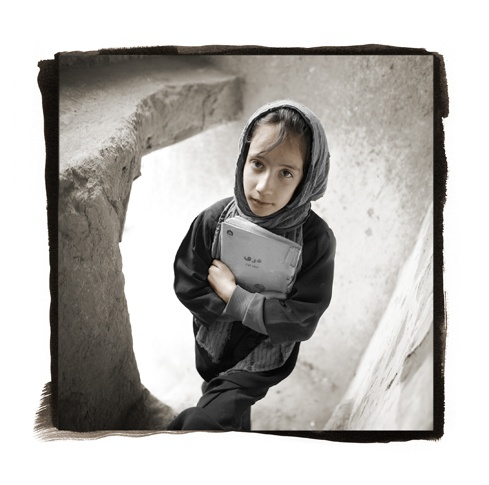 Yelda, 12  Kabul, Afghanistan by Phil Borges