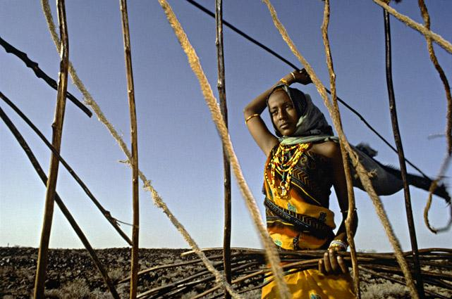 Gabra Woman by Thomas L. Kelly