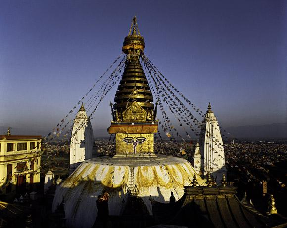 Swayambhunath by Thomas L. Kelly