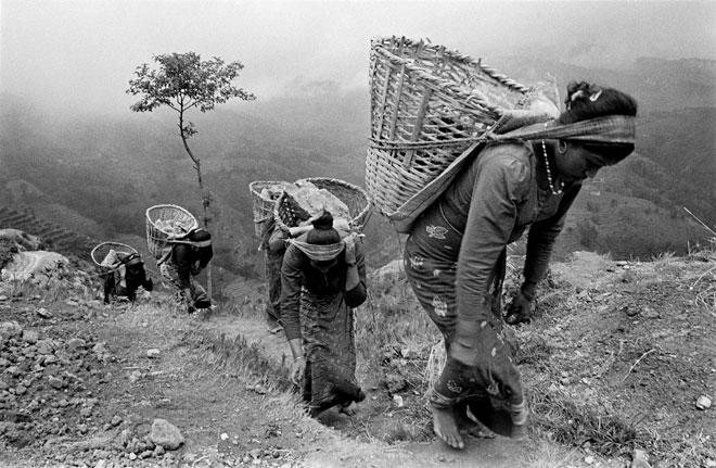 Tamang Women by Thomas L. Kelly