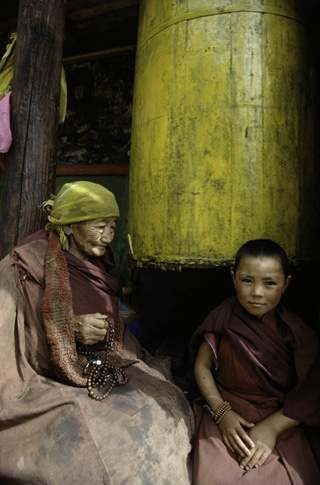 Thami Nuns by Thomas L. Kelly