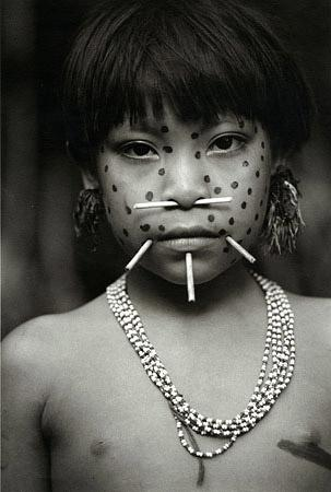 Girl from Mokarita-teri, Venezuela, 1997 by Valdir Cruz