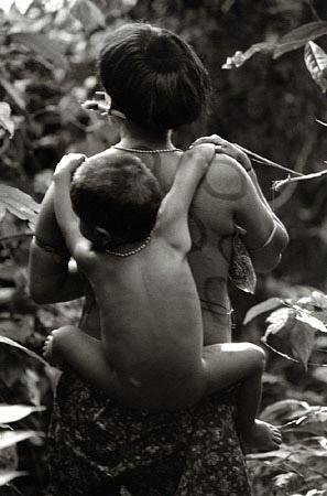 Yarima and Son, Venezuela, 1996 by Valdir Cruz