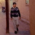Twilight alley, Yazd