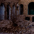 Demolished building, Yazd
