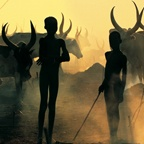 Dinka Children in Cattle Camp, South Sudan