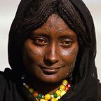 Portrait of Afar Woman