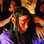 Preparing a Tuareg Bride