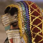 Rashaida Bride with veil