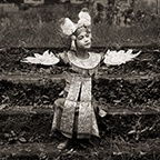 Young Girl with Wings, Bali, 1988