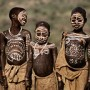 Surma children with body paint
