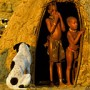 Himba Family and Hut