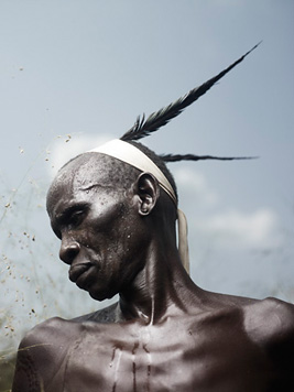 """Mursi Elder,"" An Elder of the Mursi tribe"