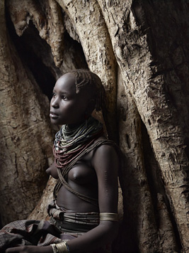 """Portrait of Daasanach Girl"", Daasanach Tribe, Omo River"