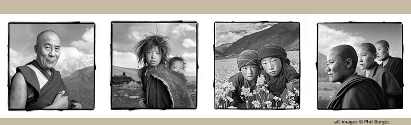 """Phil Borges """"Tibetan Portrait"""" special collection"""