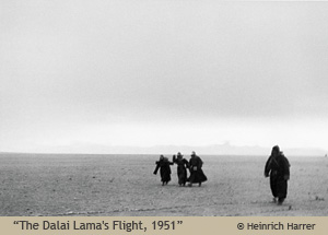 """The Dalai Lama's flight, 1951"" by Heinrich Harrer"