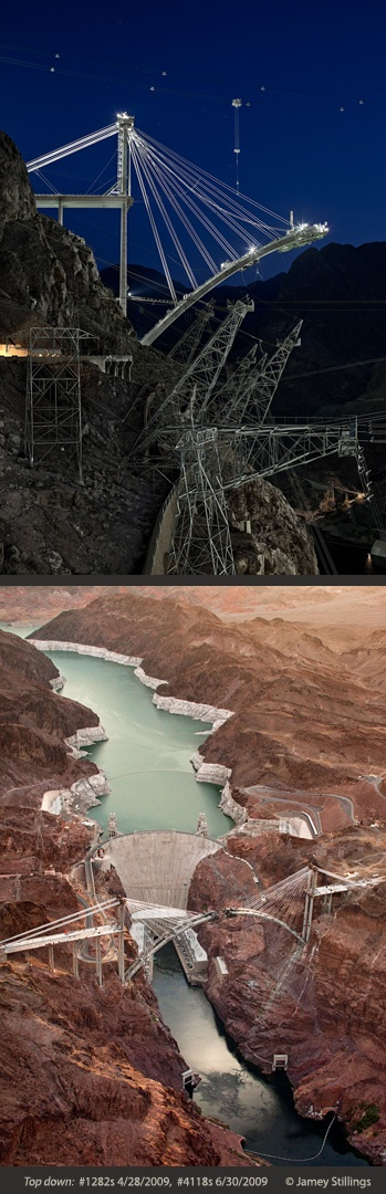 Exhibition: The Bridge at Hoover DamBridge at Hoover Dam, 44 color photographs<br />
