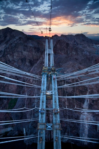 #5366 Nevada Pylon View, July 1, 2009 by Jamey Stillings