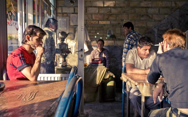 Cafe afternoon, Tehran by James Longley
